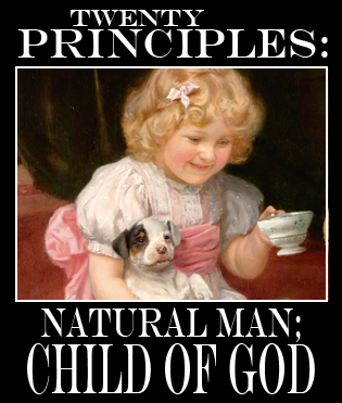 Considering Charlotte Mason's 2nd Principle, that all children have potential for both good and evil.