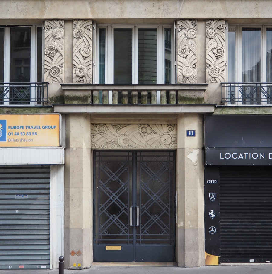 Arts Deco Paris France French Art Deco Architecture Of The 17th Arrondissement In