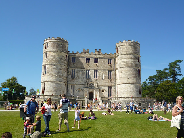 camp bestival lulworth castle