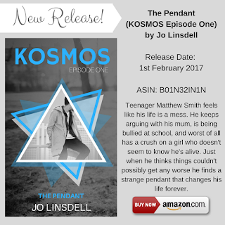 A boy finds a pendant that sends him on an adventure through time in The Pendant (KOSMOS Ep. 1) by @jolinsdell http://amzn.to/2kEVxBJ #TBR