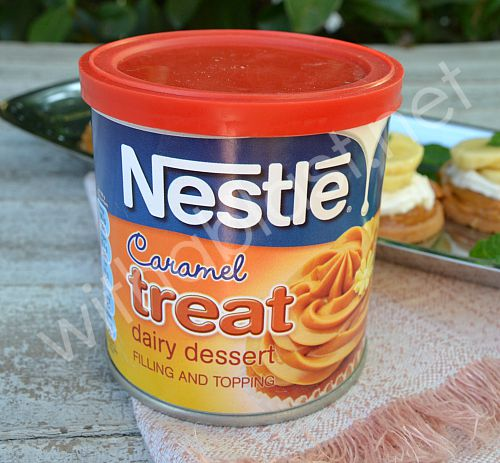 Quick Mini Banoffee Pies - Nestle Caramel Treat