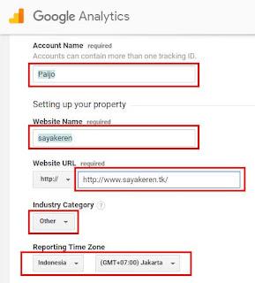 Cara Mendaftarkan Blog ke Google Analytics dan Mengintegrasikannya