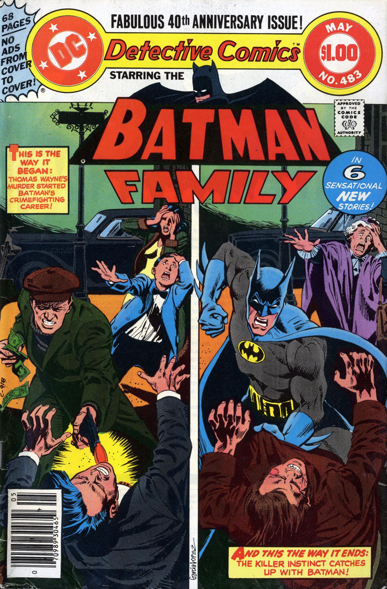 Detective Comics (1937) 483 Page 1