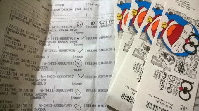 Mau Beli Tiket 100 Doraemon Secret Gadget Expo Secara Online? Baca Ini Dulu, Deh.