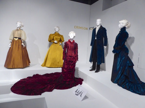 Crimson Peak movie costume exhibit FIDM Museum