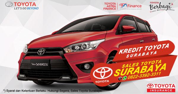 Promo DP Ringan, Paket Kredit Toyota Yaris Surabaya