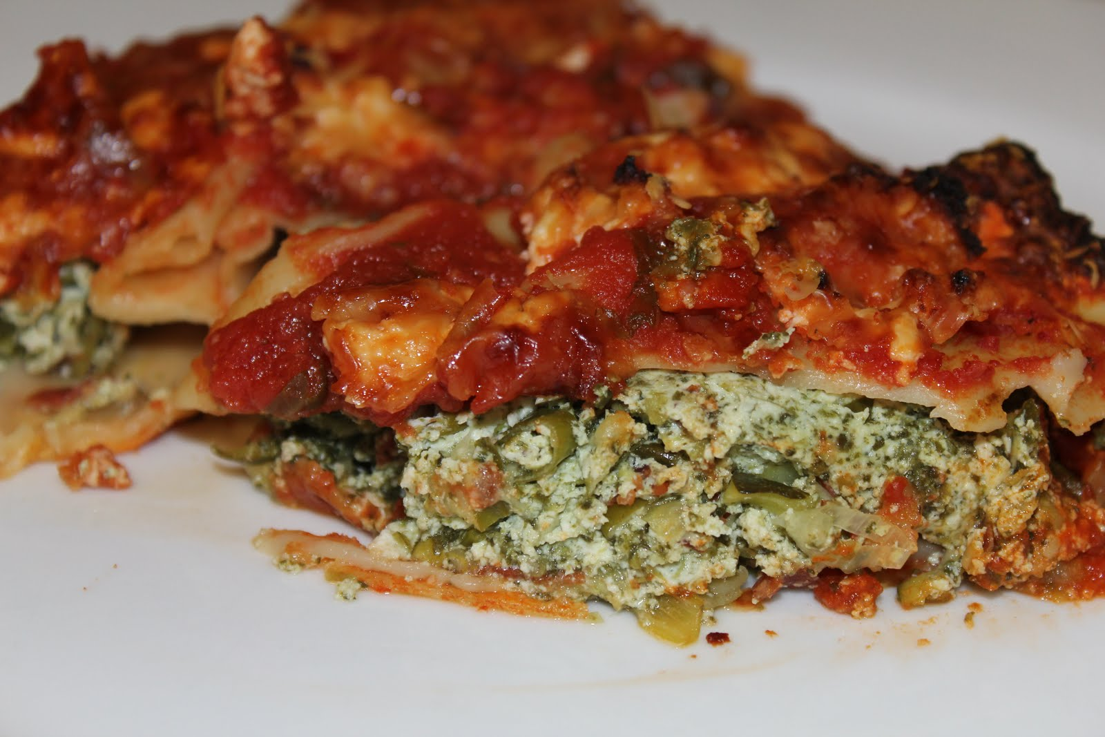 Spinach Pancetta and Ricotta Cannelloni - A Dash Of ...