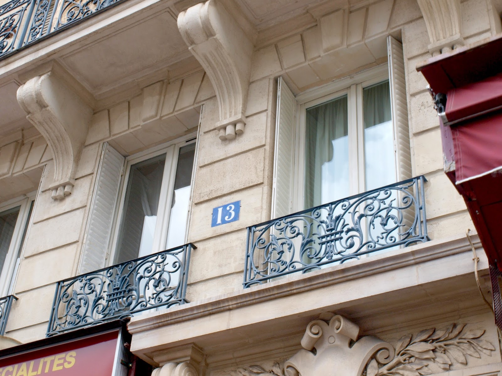 Exterior of our Paris apartment 13 - Hello Lovely Studio