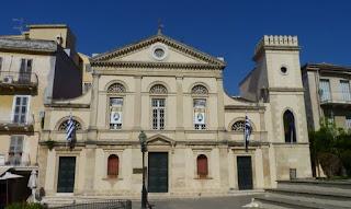 Catedral de Corfú Mitrópoli Panagia Spileotisa.