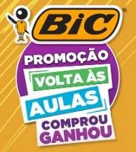 Cadastrar Promoção BIC 2019 Volta às Aulas Comprou Ganhou Experiências Até 100 Reais