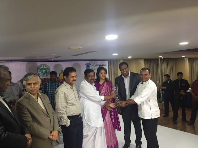 Telangana Food Awards for Mercure Hyderabad KCP