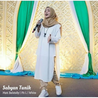 Jual Baju Atasan Muslim Wanita Sabyan Tunik
