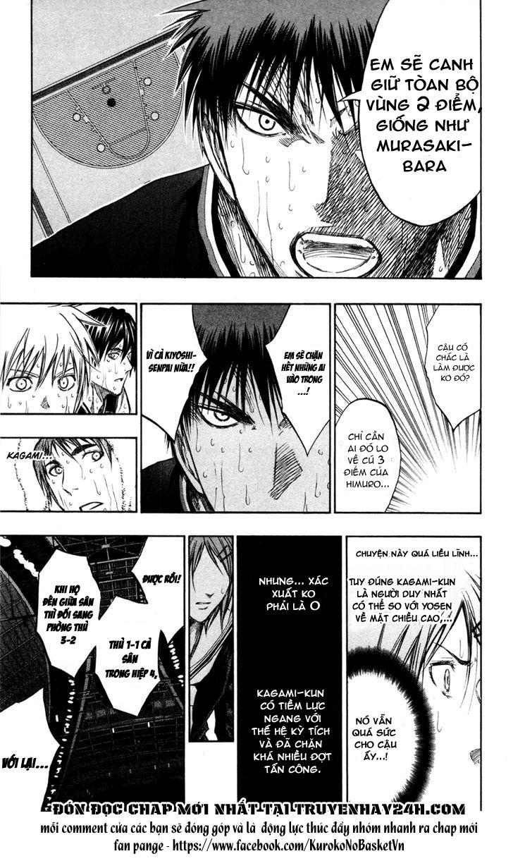 Kuroko No Basket chap 160 trang 10