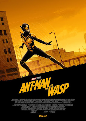 Odeon Cinemas Exclusive Ant-Man and The Wasp Movie Posters by Matt Ferguson x Marvel - The Wasp