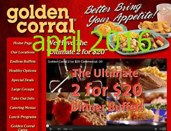 Golden Corral Printable Coupons April 2018 Coupon Code In Usa
