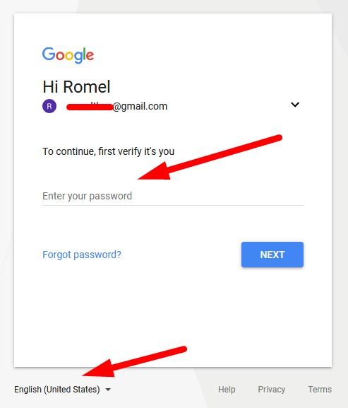 blogger login gmail
