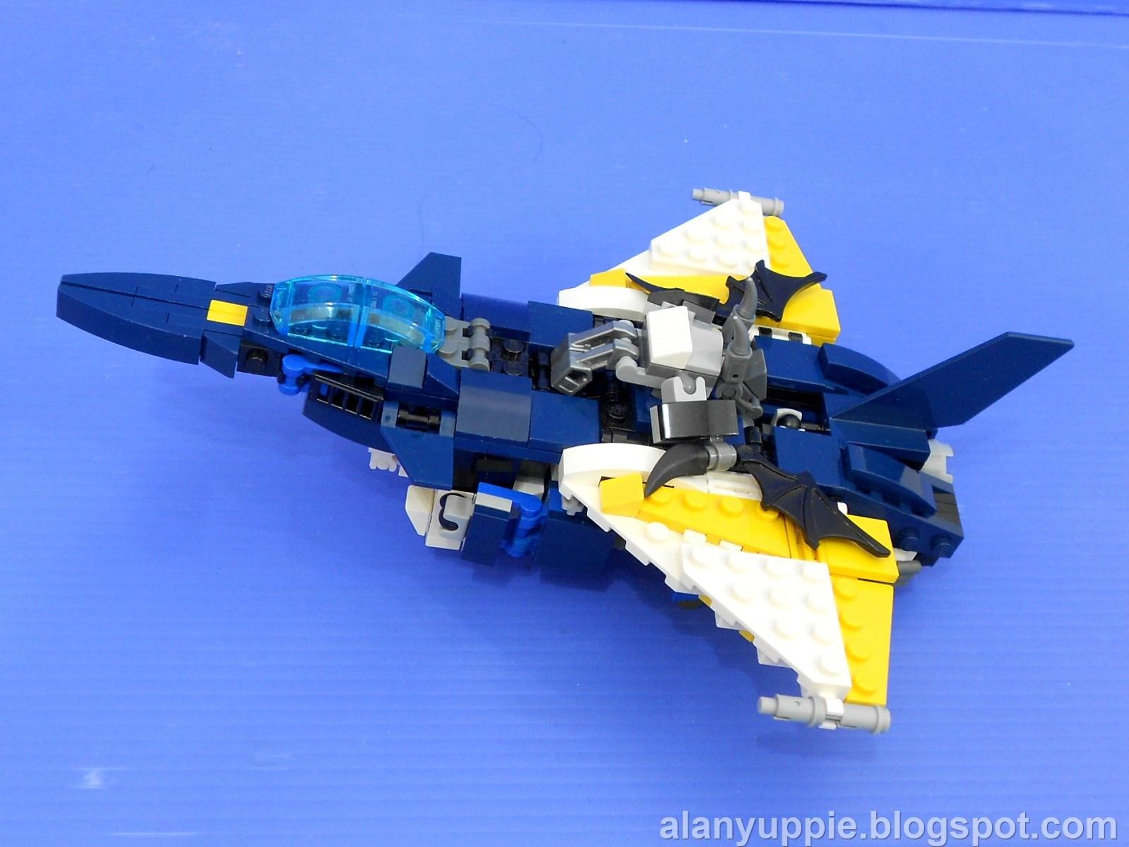 how to make a lego transformer jet