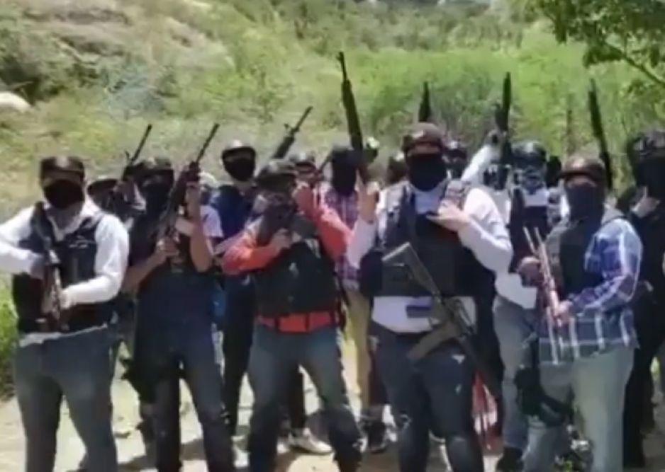"""Video: CJNG se deslinda del """"Cártel Puebla Segura"""": aseguran que """"Comandante 30"""" es un chapulín."""