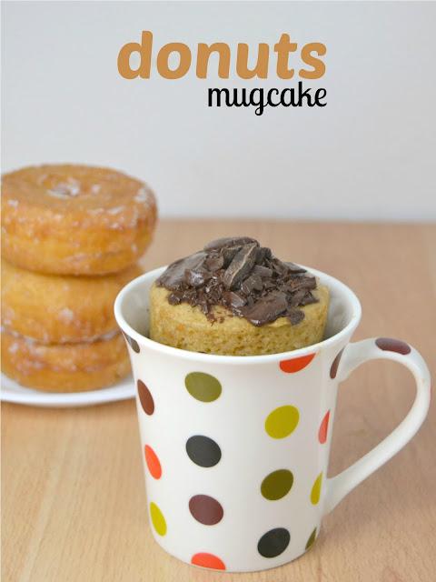 Mug Cake De Donuts Cuuking Recetas De Cocina