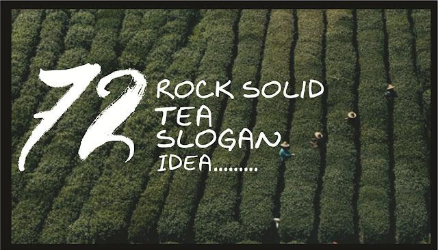 tea slogan tagline idea