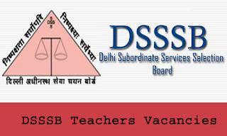 DSSSB Syllabus