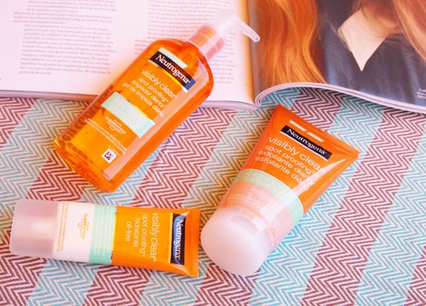 Descubre cómo mantener a raya el acné adulto con Visibly Clear de Neutrogena