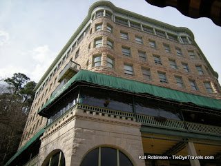 It Has Haunted Properties Strange S Eclectic Restaurants And Extraordinary Geography One Oddity Worth A Visit Is The Basin Park Hotel