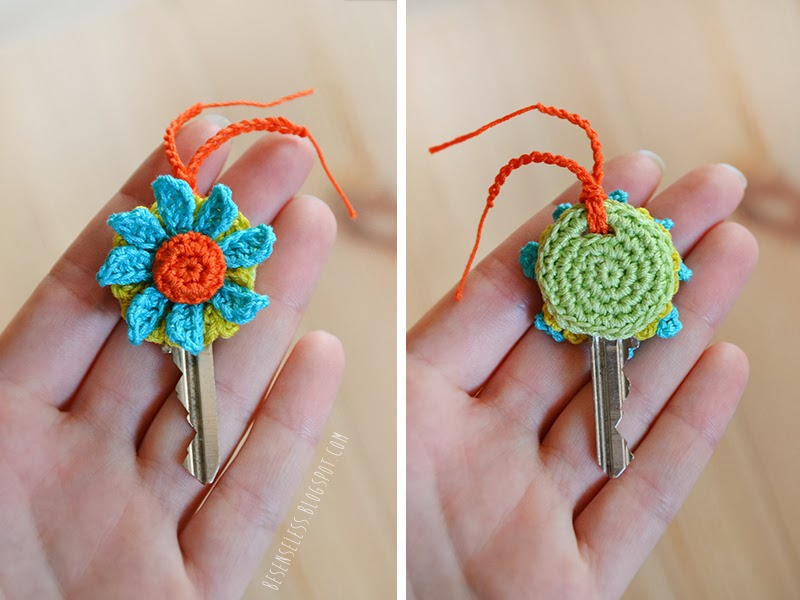 Crochet Key Covers