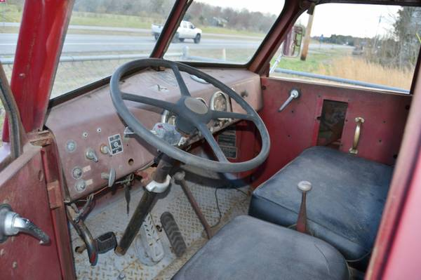 1956 American LaFrance Pumper Fire Truck - Old Truck