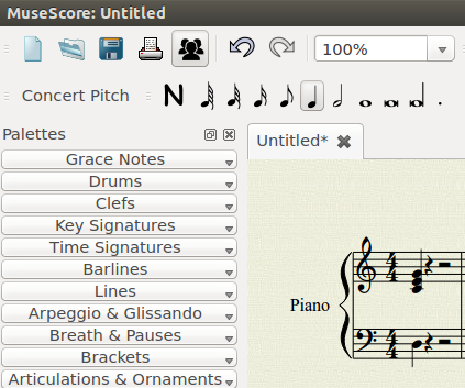 Nickleus Music Technology Blog: Ubuntu music notation