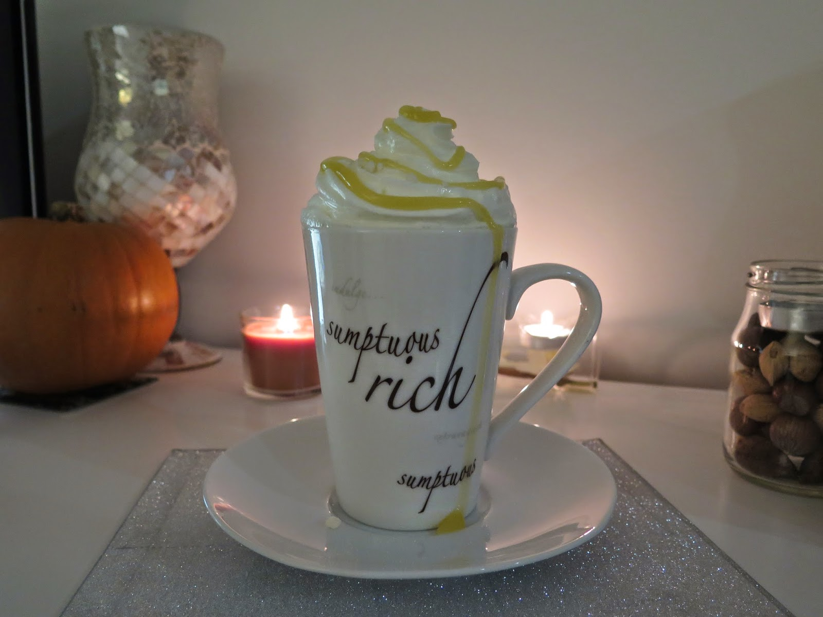 lemon meringue hot chocolate