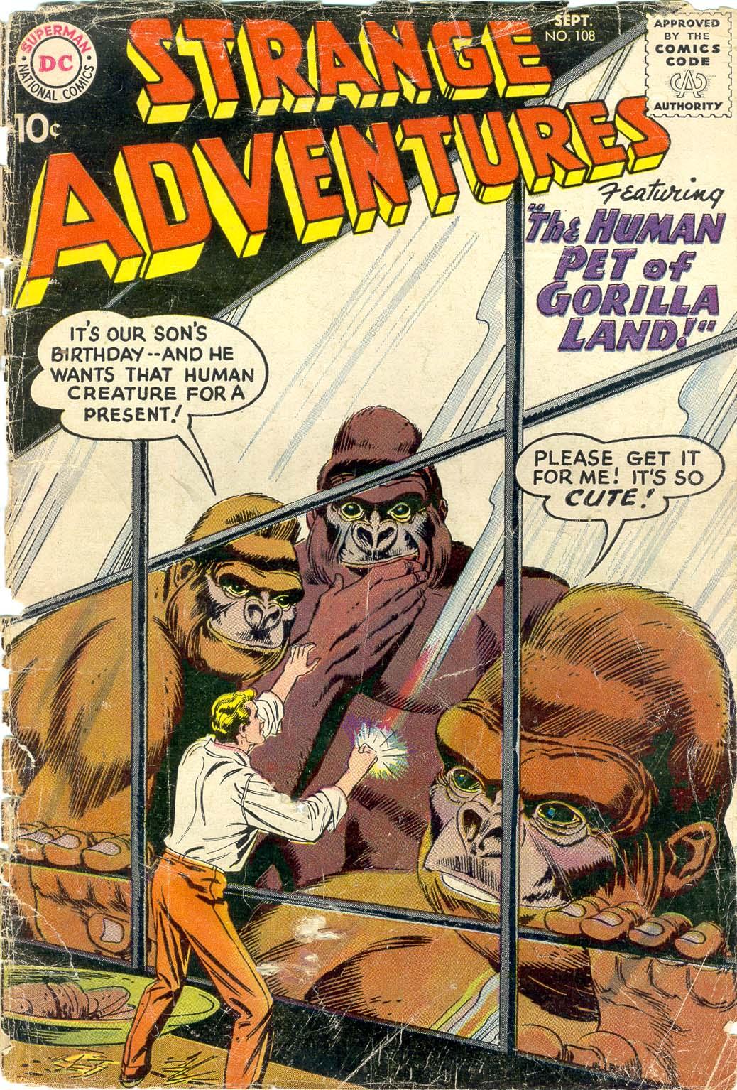 Strange Adventures (1950) issue 108 - Page 1