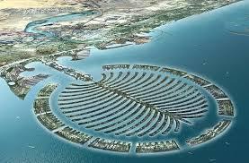 katar adaları, yapay ada
