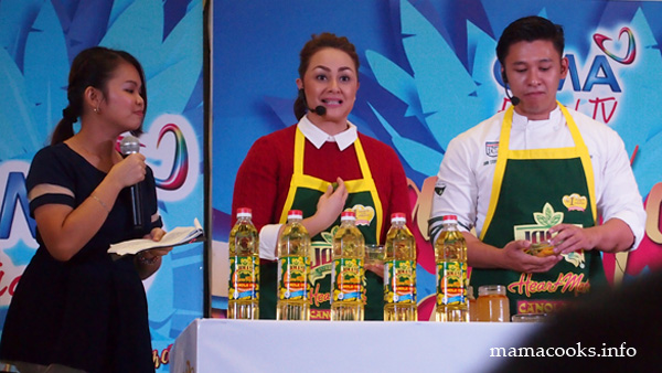 Chef Donita Rose for Jolly Heart Mate Canola Oil
