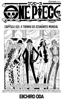 One Piece 825 Mangá Português leitura online