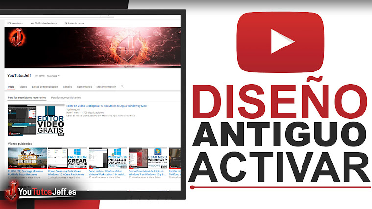 Volver al Diseño Antiguo de Youtube - Trucos Youtube