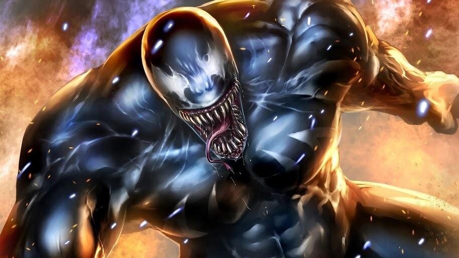 Venom, Marvel, Comics, 4K, #4.2968