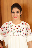 Lavanya Tripathi in Summer Style Spicy Short White Dress at her Interview  Exclusive 182.JPG