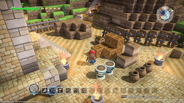 dragonquest builders 採掘された物資と加工された商品