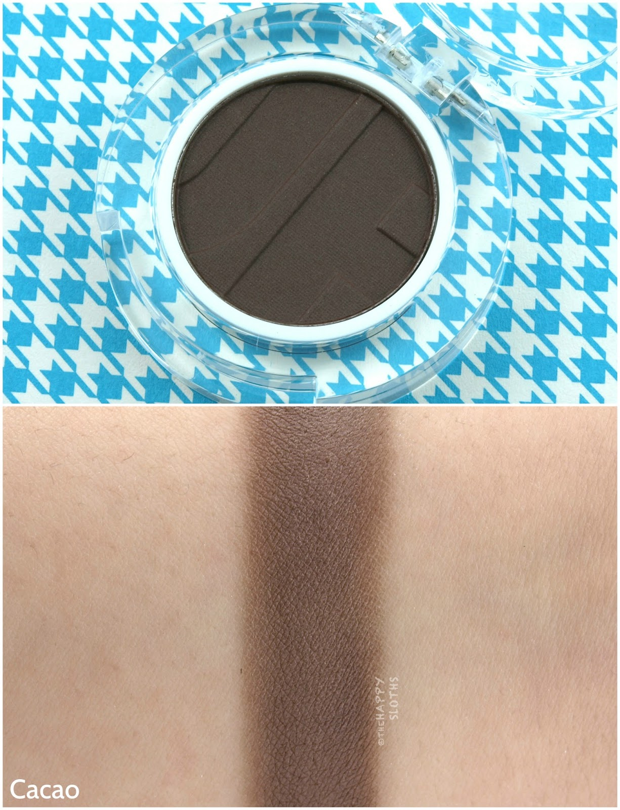 Joe Fresh Beauty Single Eyeshadow in Cacao: Review and Swatches