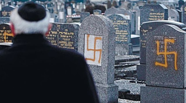 Resultado de imagem para judeu agredido frança