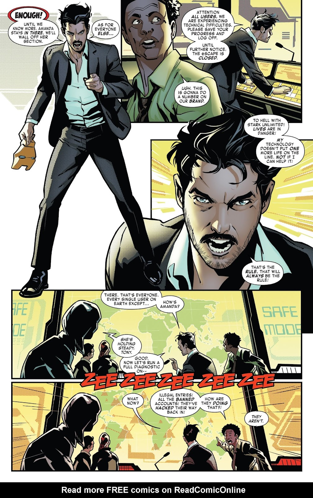 Read online Tony Stark: Iron Man comic -  Issue #7 - 12