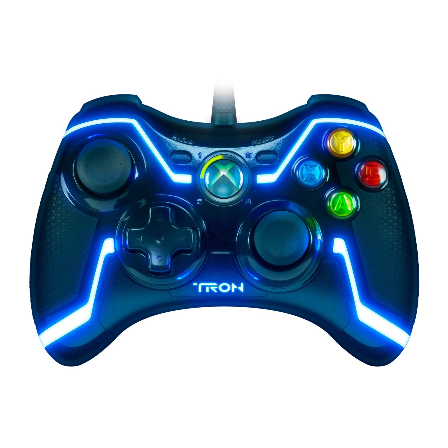 there will love this tron wired controller for xbox 360 the controllerXbox 360 Controller Designs
