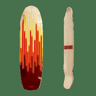 サーファーもスノーボーダーにも魅力的!アースウィングスケートボード チームシリーズ