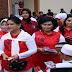 Ketua Umum Dharma Pertiwi Dampingi Ibu Negara di Komplek Seroja