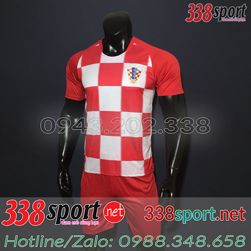 Áo Croatia Đỏ 2018 2019 Sân Nhà