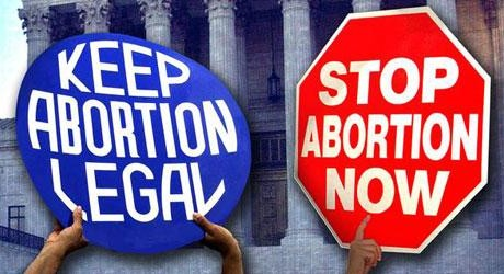 Abortion signs