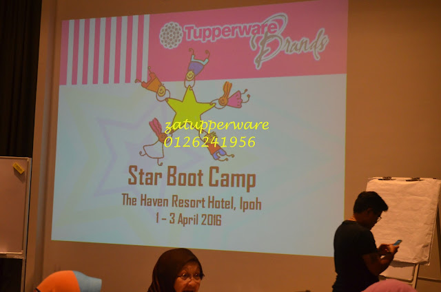 Tupperware Star Boot Camp Ipoh