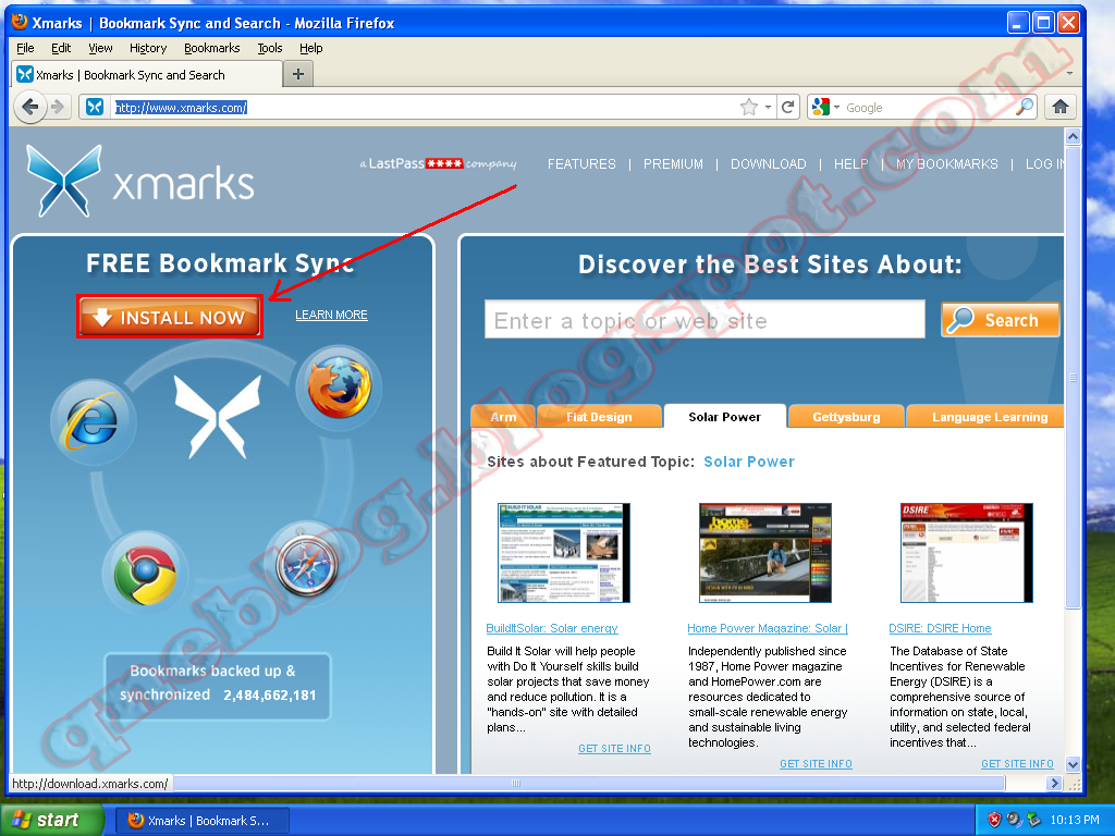 How To Save Your Firefox Bookmarks Online