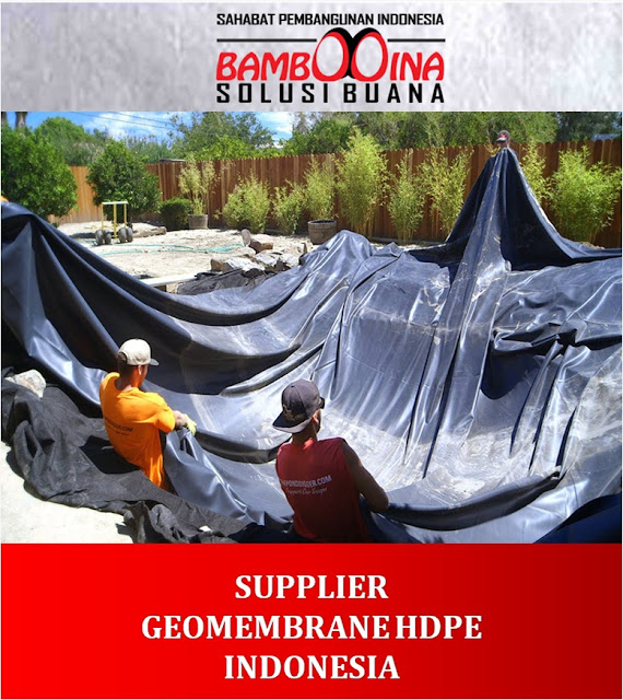 Jual Geomembrane HDPE Murah di Kalimantan Tengah
